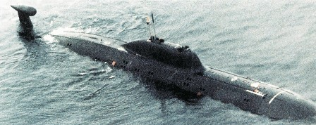 Pictured: A nuclear-powered attack submarine that India leased off Russia two decades ago. Photo: US DoD.
