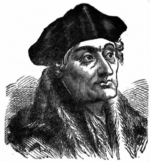 Wise old bird Desiderius Erasmus (1466 - 1536) who once said: 'In the kingdom of the blind, the one-eyed man is king.'