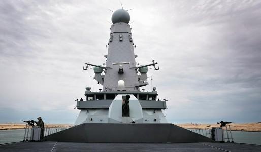 HMS DARING EAST OF SUEZ