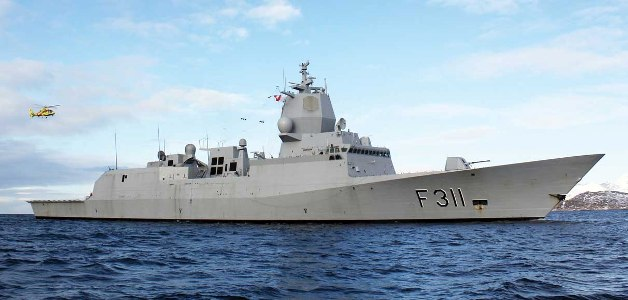 NORWEGIAN FRIGATE