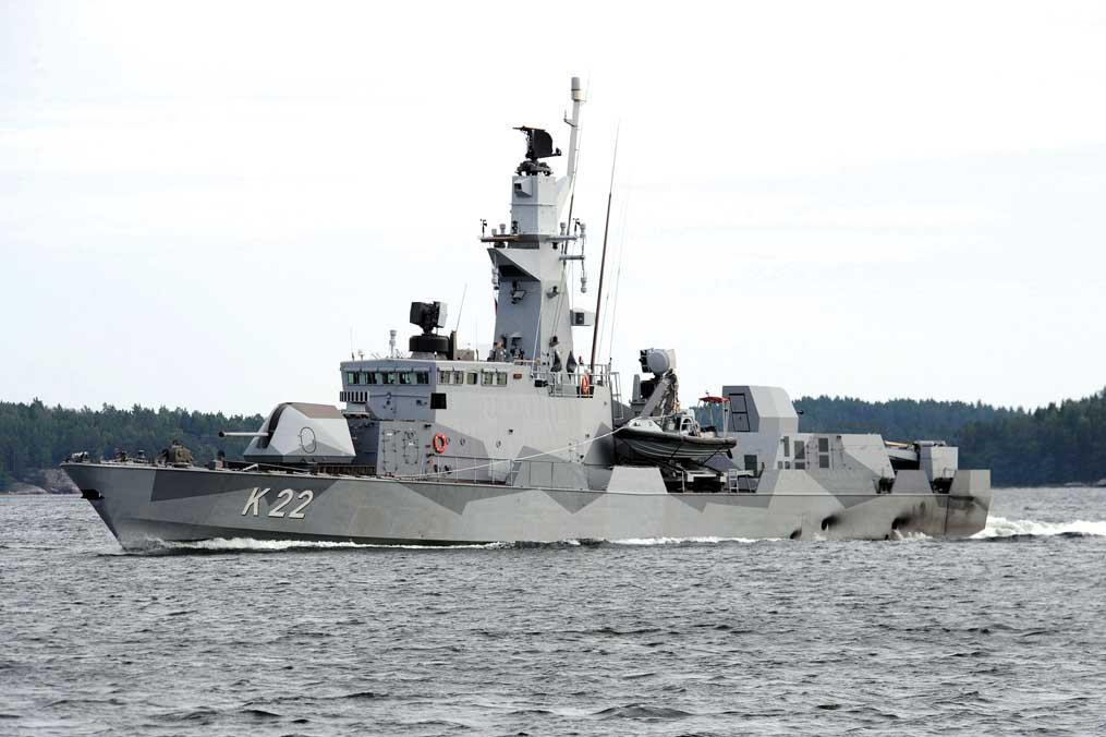 SWEDISH WARSHIP