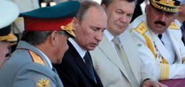 Putin and Yanuk