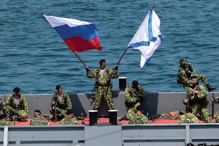 RUSSIAN MARINES BSF DAY