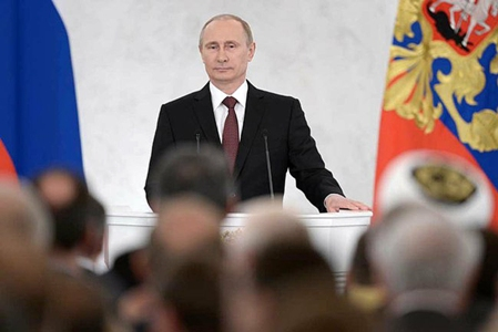 Putin in Conference