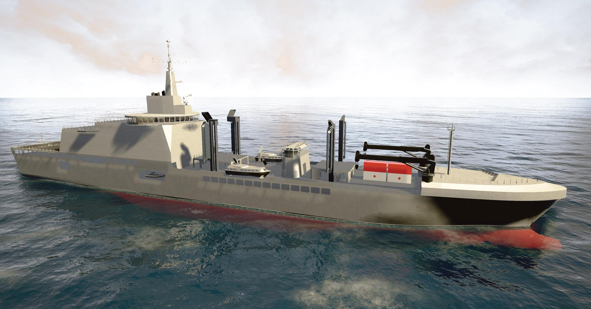 NEW ITALIAN SHIP
