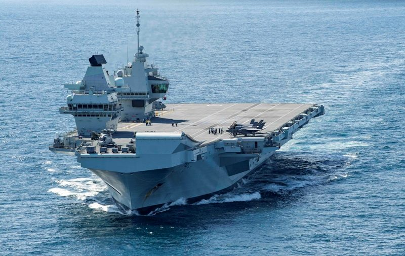 The Queen Elizabeth Class aircraft carrier